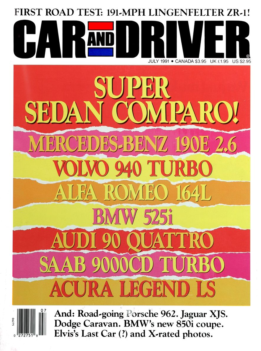 Formula C/D: The Car and Driver Covers of the 1990s - Slide 20