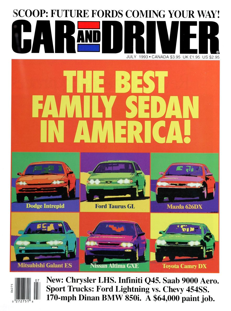 Formula C/D: The Car and Driver Covers of the 1990s - Slide 44