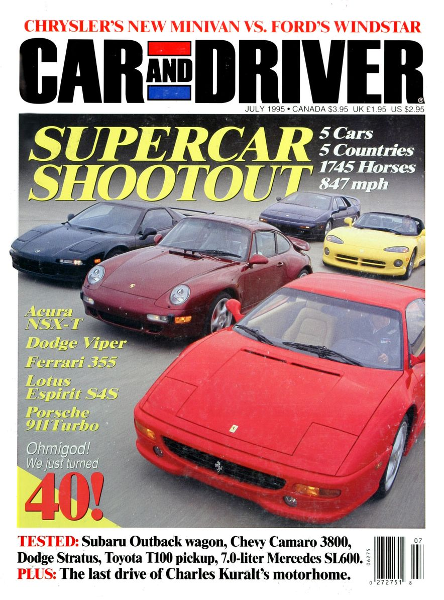 Formula C/D: The Car and Driver Covers of the 1990s - Slide 68