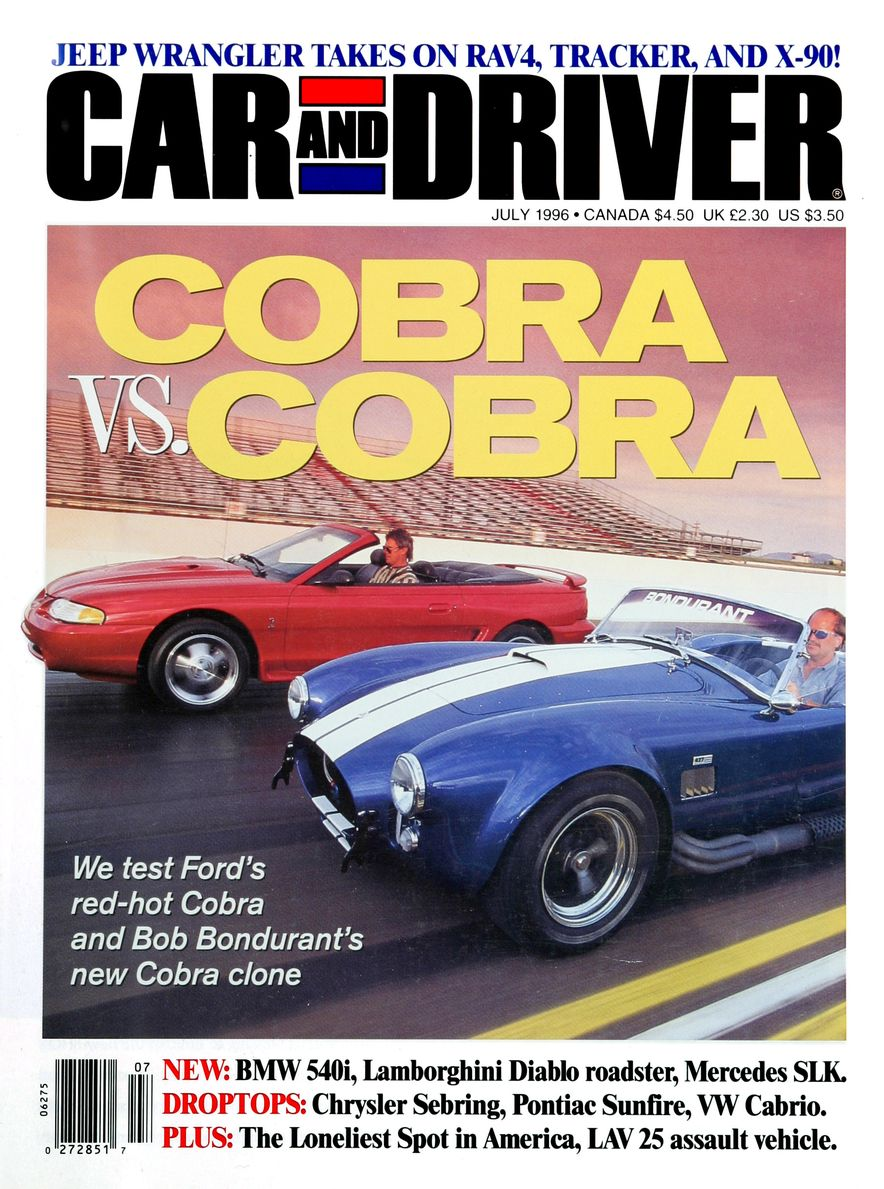Formula C/D: The Car and Driver Covers of the 1990s - Slide 80
