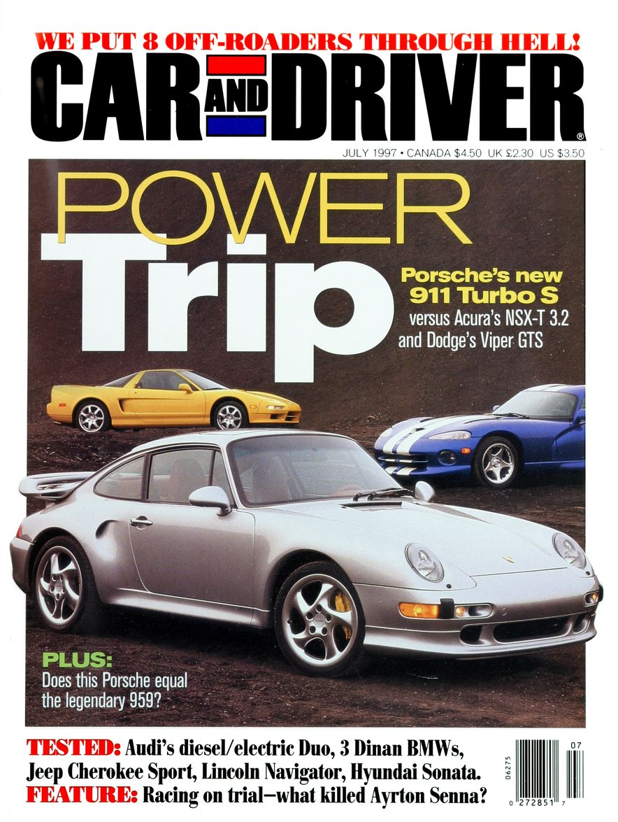 Formula C/D: The Car and Driver Covers of the 1990s - Slide 92