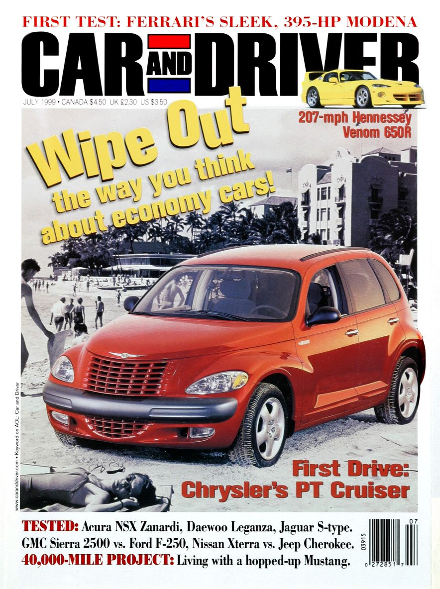 Formula C/D: The Car and Driver Covers of the 1990s - Slide 116