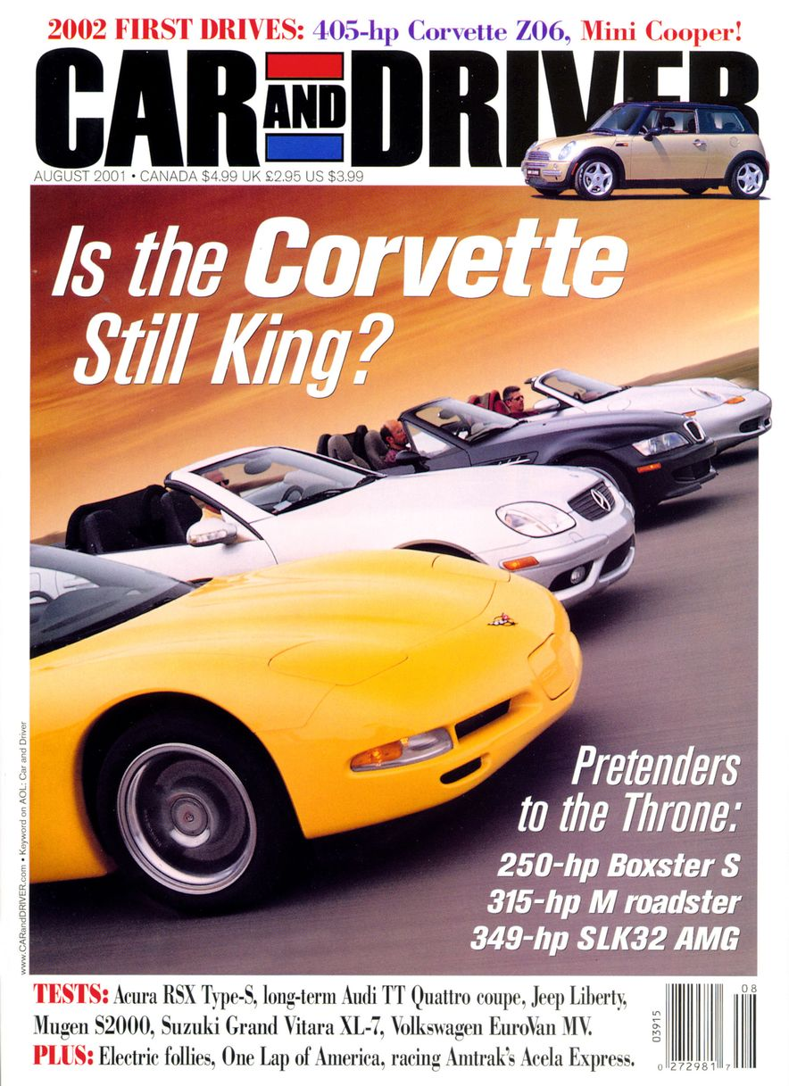 Going Millennial: The Car and Driver Covers of the 2000s and 2010s - Slide 21