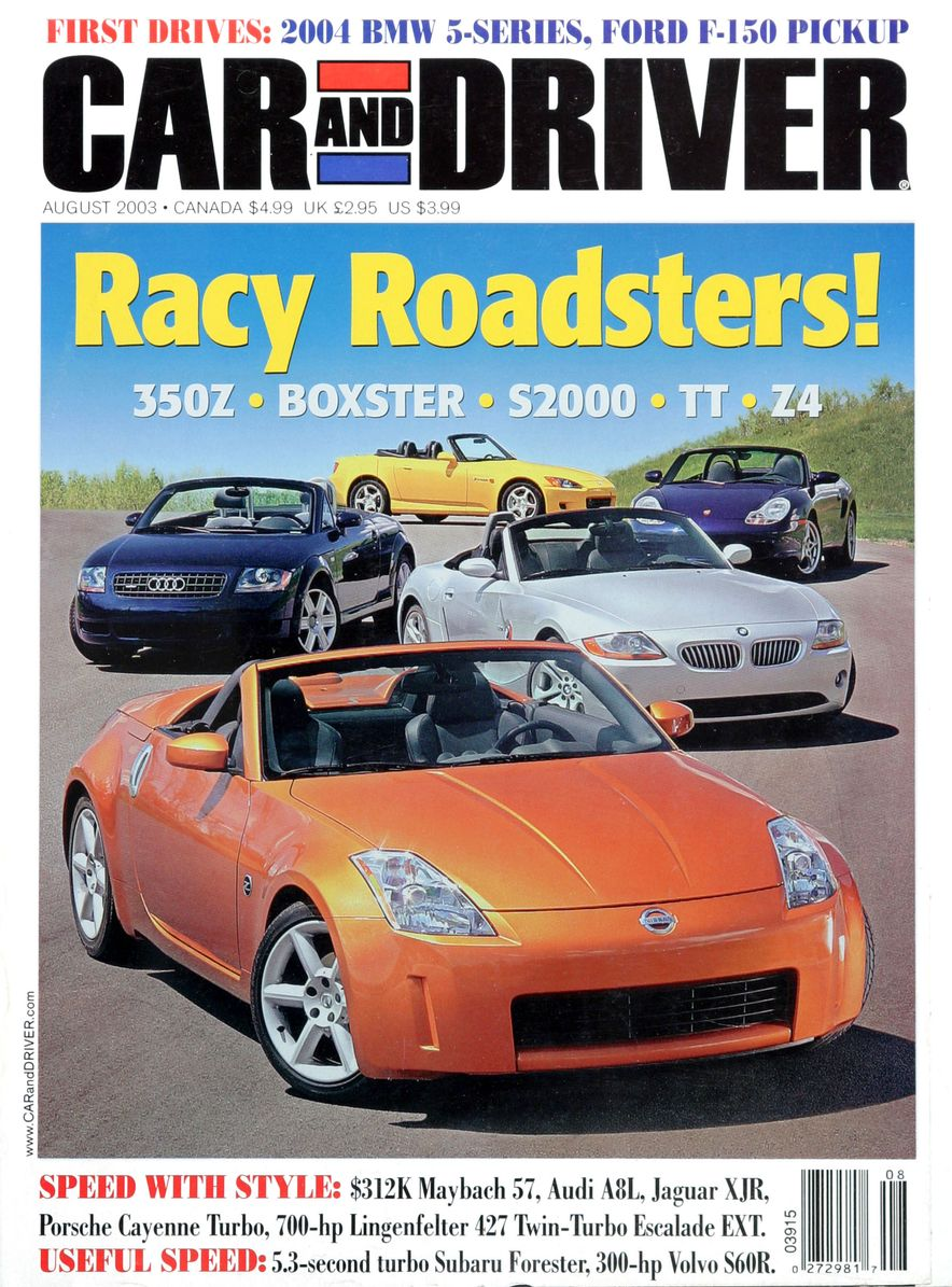 Going Millennial: The Car and Driver Covers of the 2000s and 2010s - Slide 45