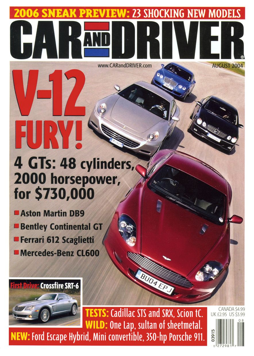 Going Millennial: The Car and Driver Covers of the 2000s and 2010s - Slide 57