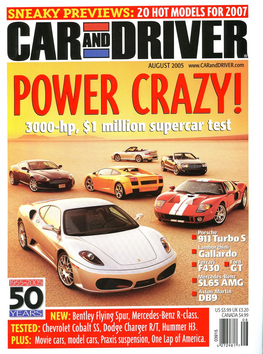 Going Millennial: The Car and Driver Covers of the 2000s and 2010s - Slide 69