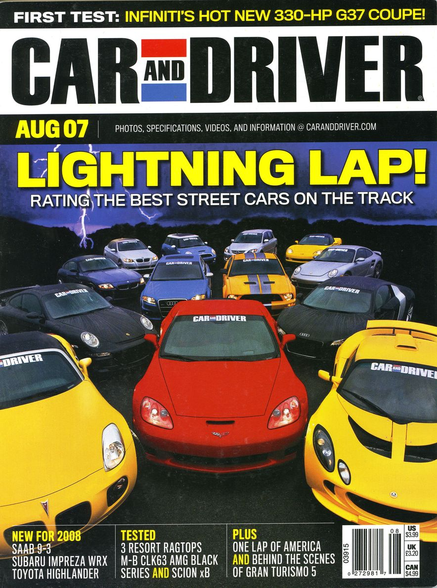 Going Millennial: The Car and Driver Covers of the 2000s and 2010s - Slide 93