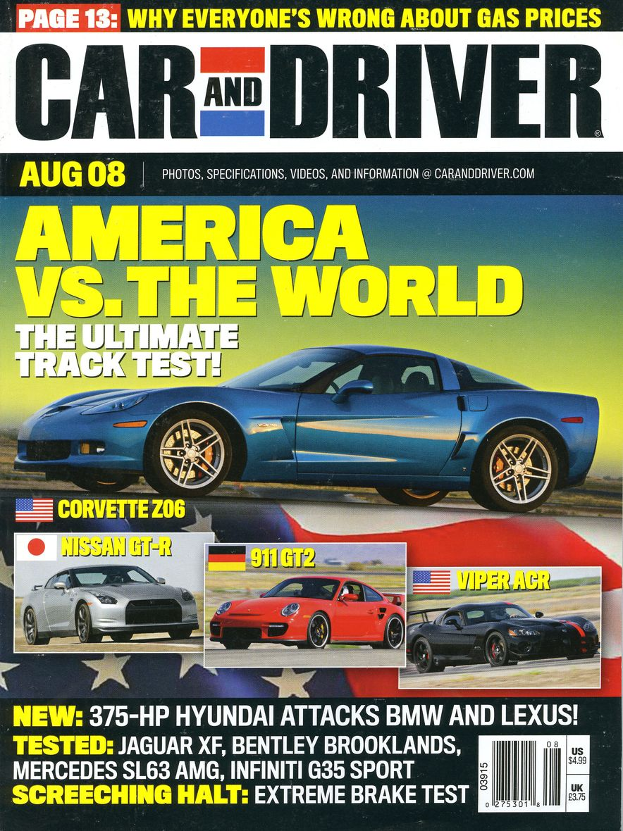 Going Millennial: The Car and Driver Covers of the 2000s and 2010s - Slide 105