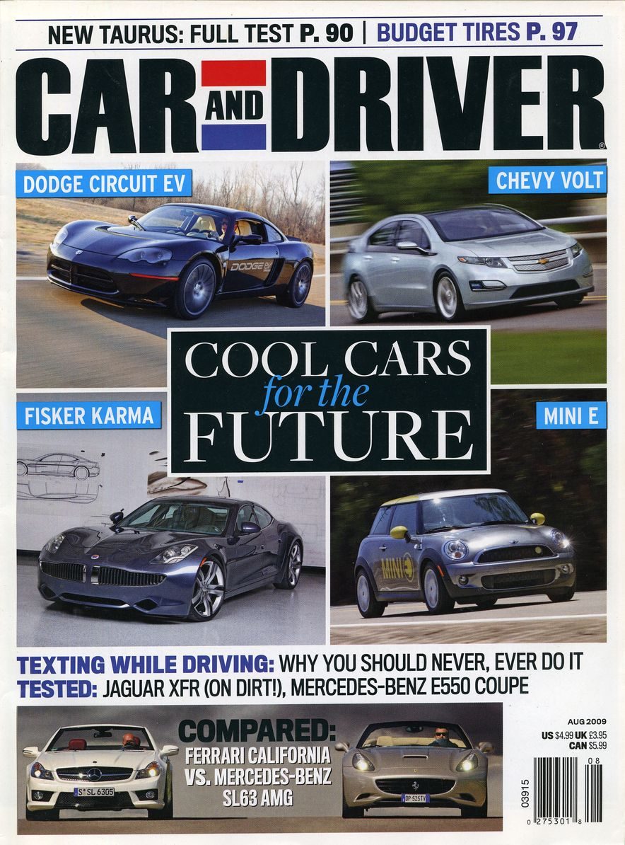 Going Millennial: The Car and Driver Covers of the 2000s and 2010s - Slide 117