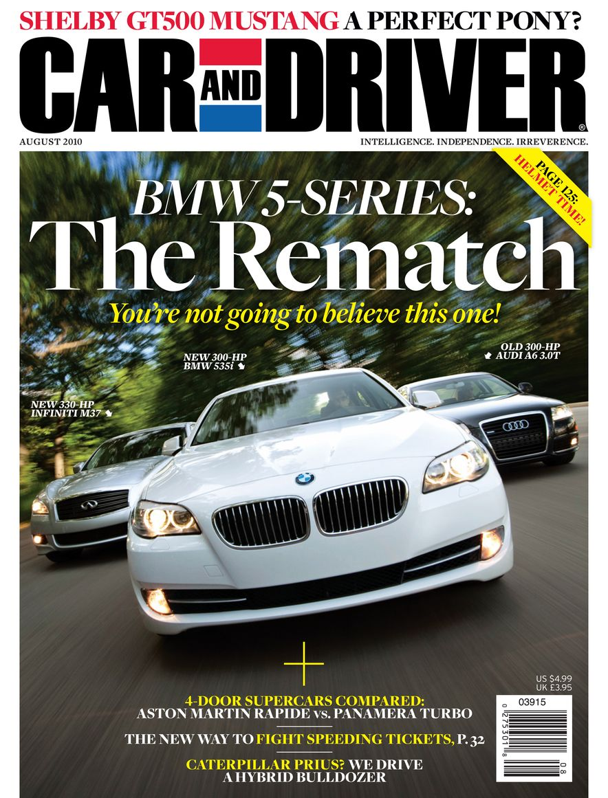 Going Millennial: The Car and Driver Covers of the 2000s and 2010s - Slide 129