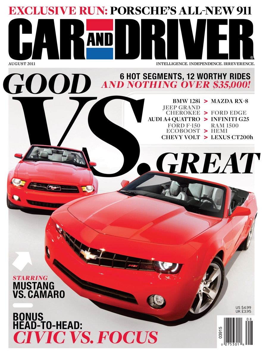 Going Millennial: The Car and Driver Covers of the 2000s and 2010s - Slide 141