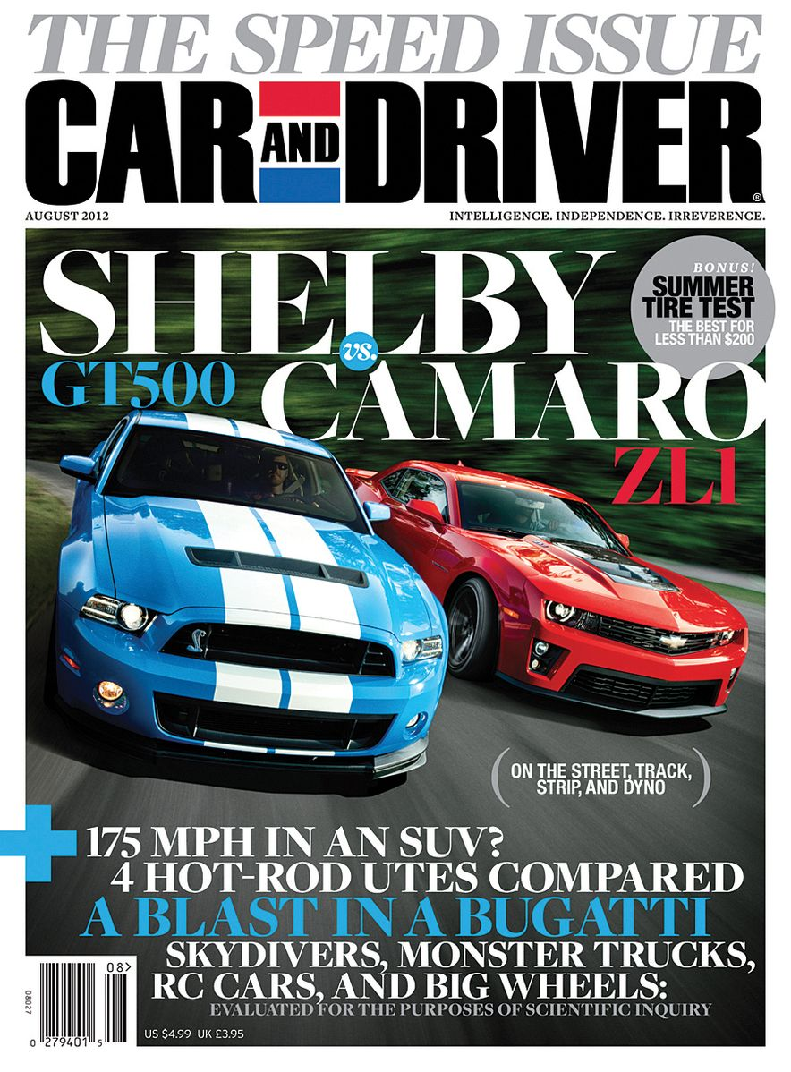 Going Millennial: The Car and Driver Covers of the 2000s and 2010s - Slide 153