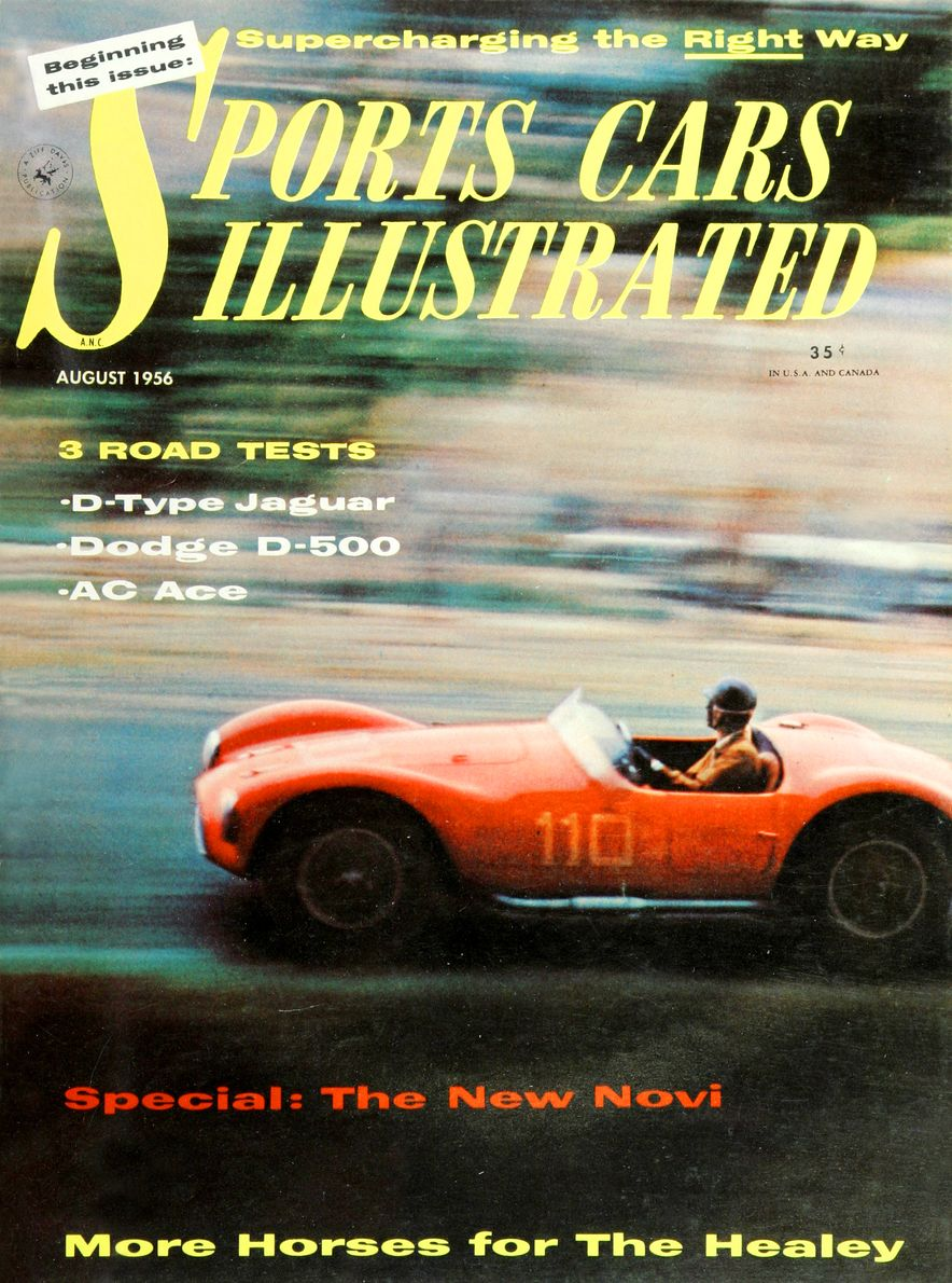 When We Were Young: The Car and Driver/Sports Cars Illustrated Covers of the 1950s - Slide 15