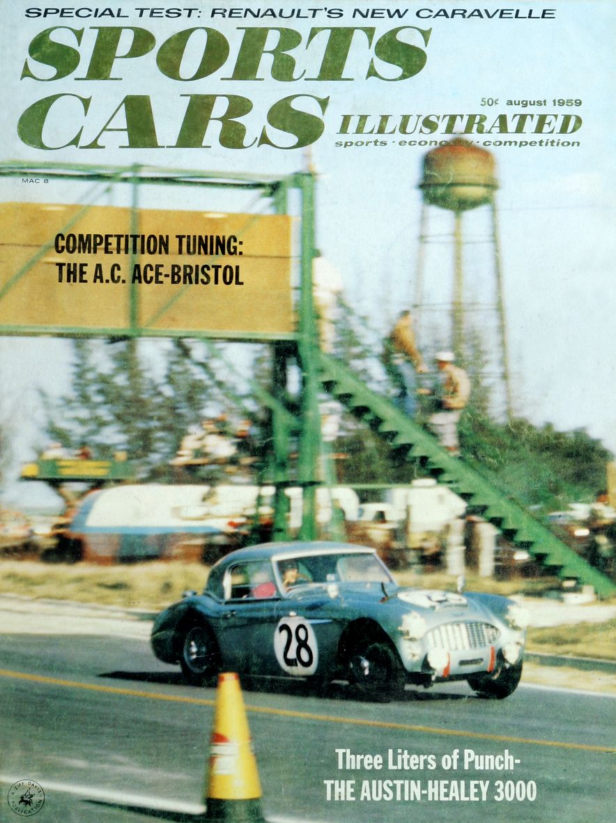When We Were Young: The Car and Driver/Sports Cars Illustrated Covers of the 1950s - Slide 51