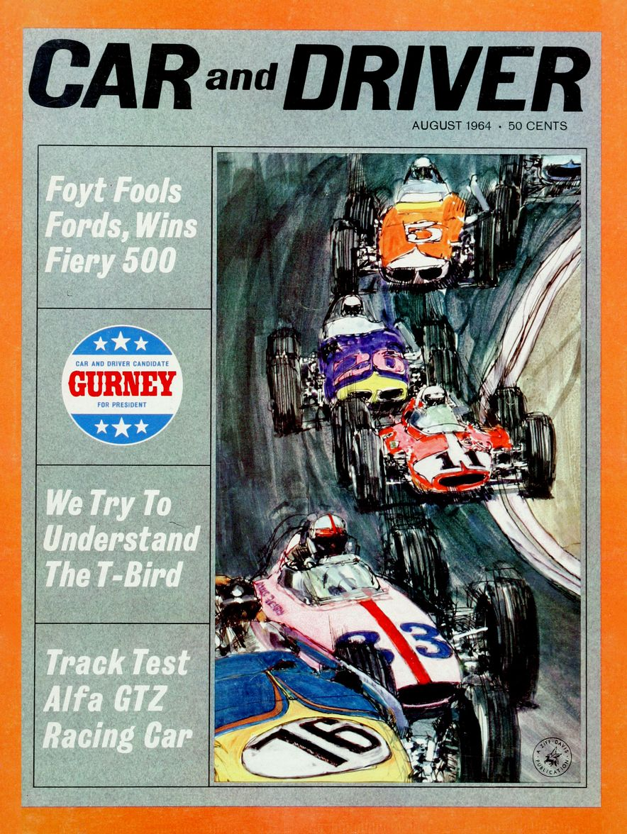 Getting Groovy and into the Groove: The Car and Driver Covers of the 1960s - Slide 57
