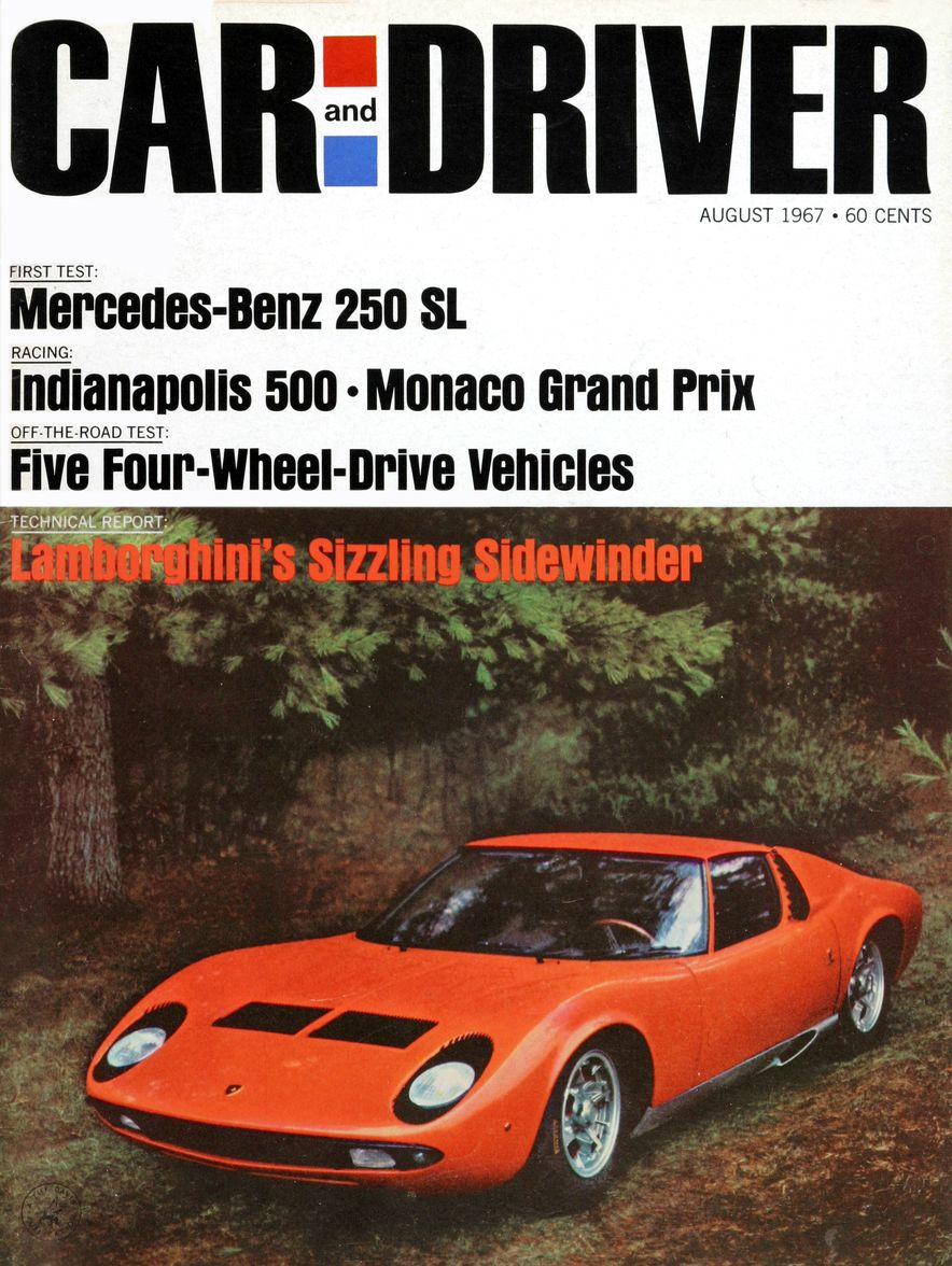 Getting Groovy and into the Groove: The Car and Driver Covers of the 1960s - Slide 93