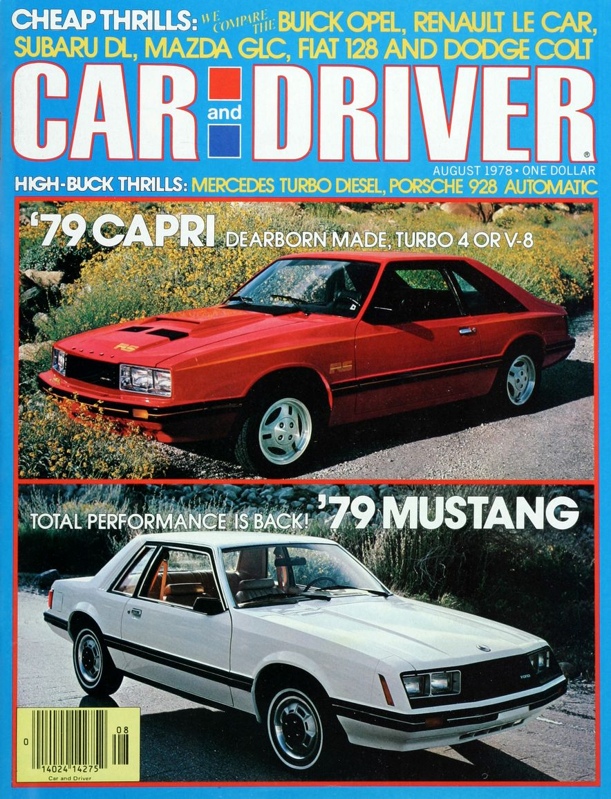 The Us Decade: The Car and Driver Covers of the 1970s - Slide 105
