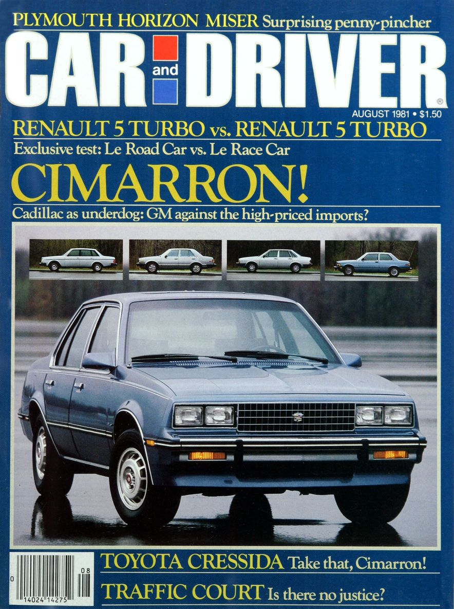 Like, Totally Rad: The Car and Driver Covers of the 1980s - Slide 21