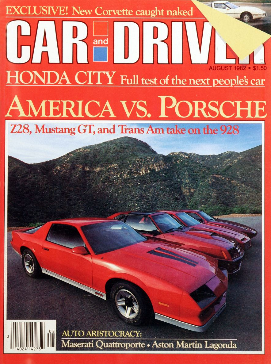 Like, Totally Rad: The Car and Driver Covers of the 1980s - Slide 33
