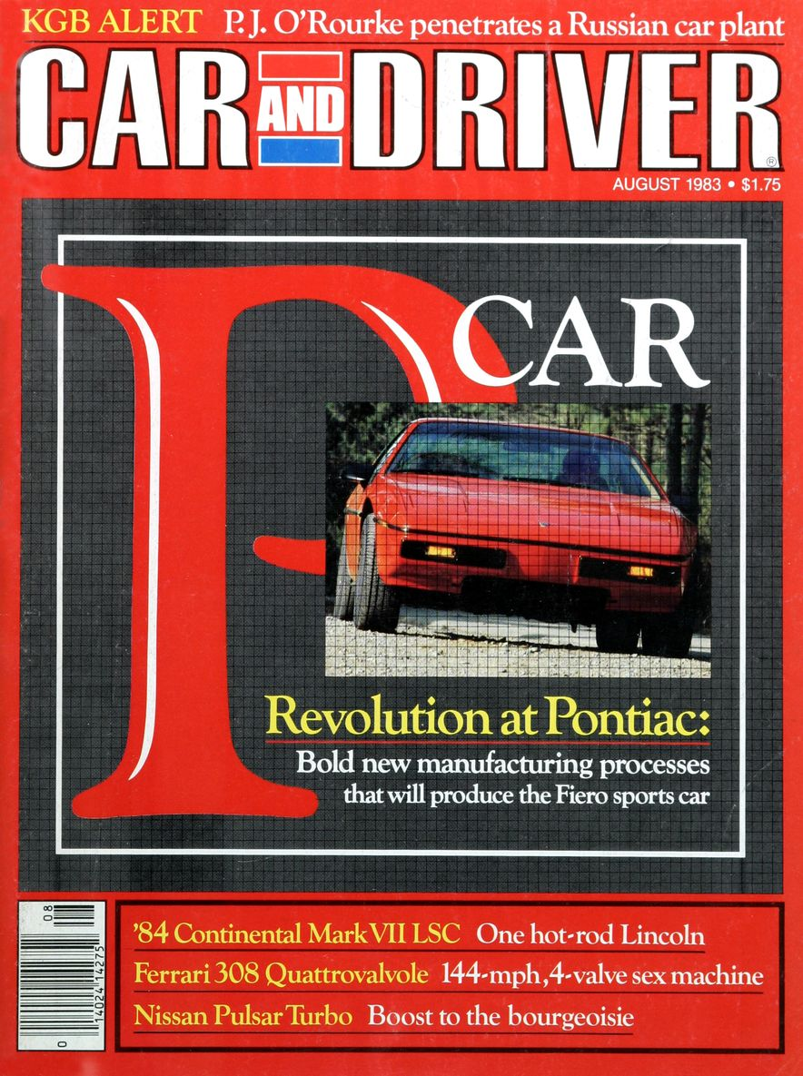 Like, Totally Rad: The Car and Driver Covers of the 1980s - Slide 45