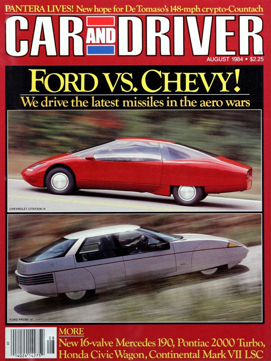 Like, Totally Rad: The Car and Driver Covers of the 1980s - Slide 57