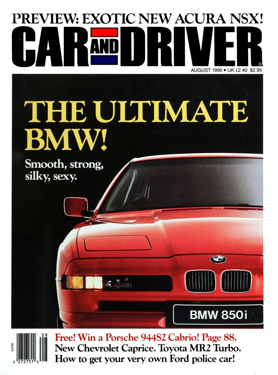 Formula C/D: The Car and Driver Covers of the 1990s - Slide 9
