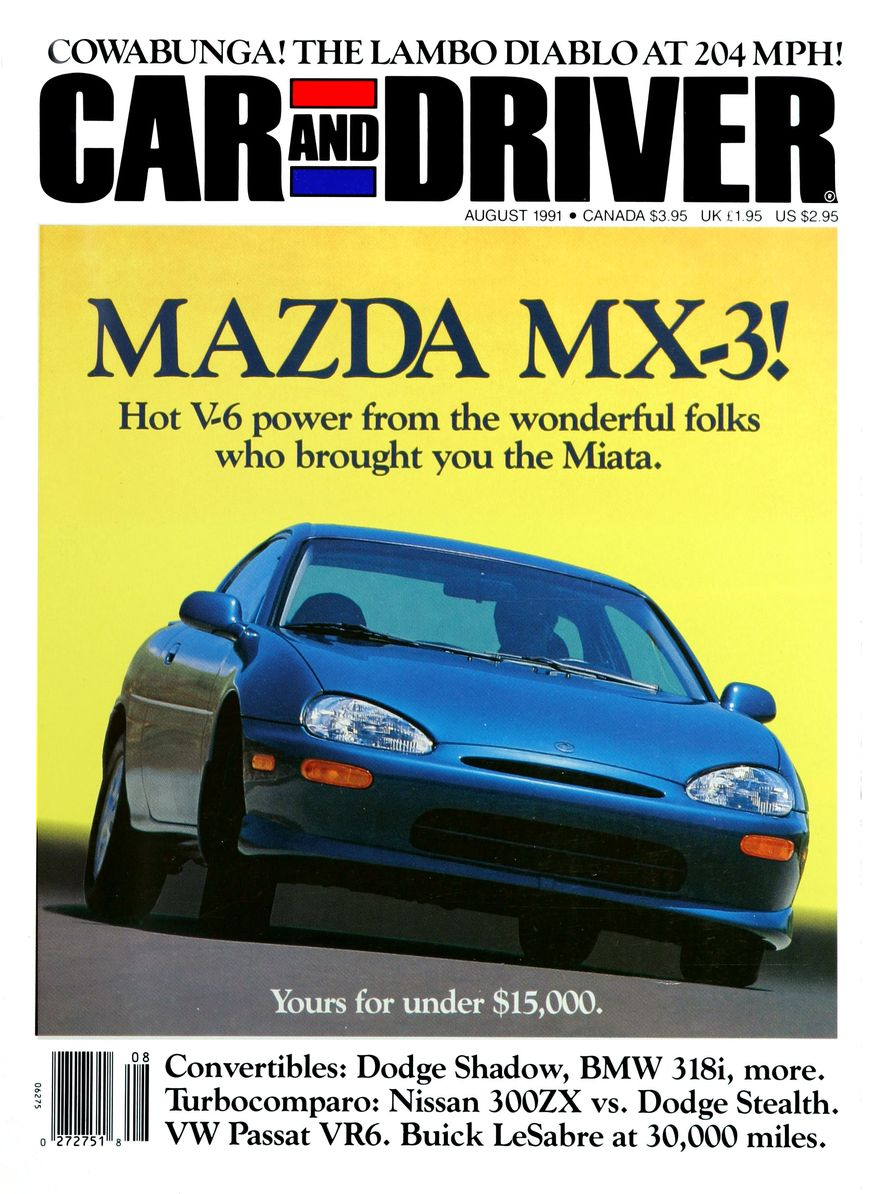 Formula C/D: The Car and Driver Covers of the 1990s - Slide 21