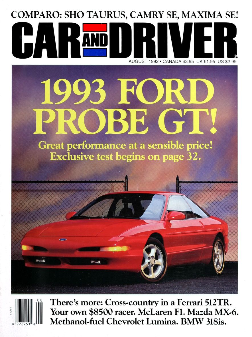 Formula C/D: The Car and Driver Covers of the 1990s - Slide 33