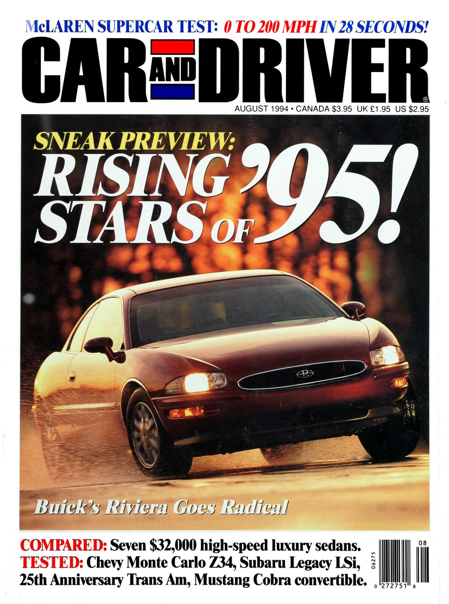 Formula C/D: The Car and Driver Covers of the 1990s - Slide 57