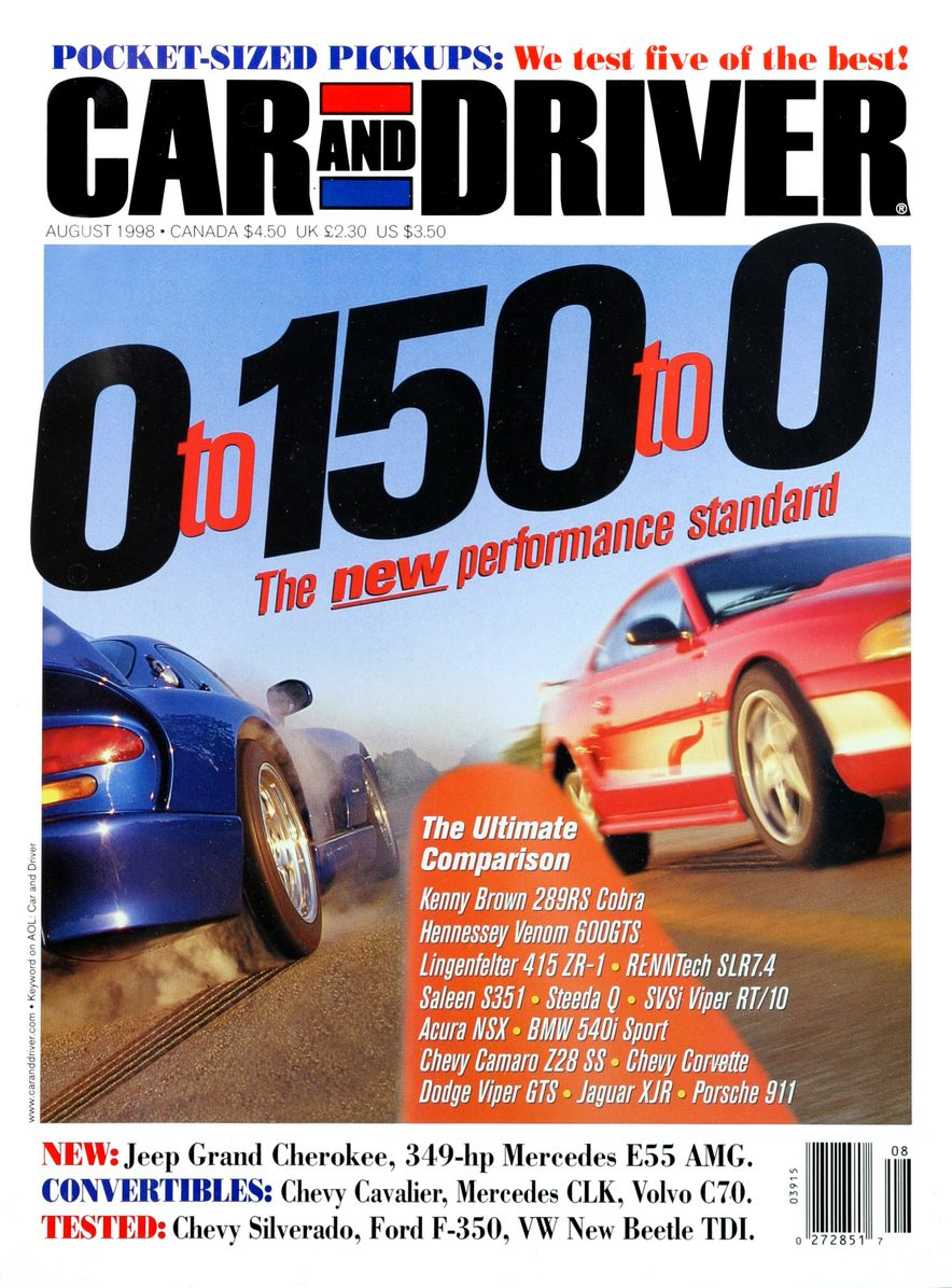 Formula C/D: The Car and Driver Covers of the 1990s - Slide 105