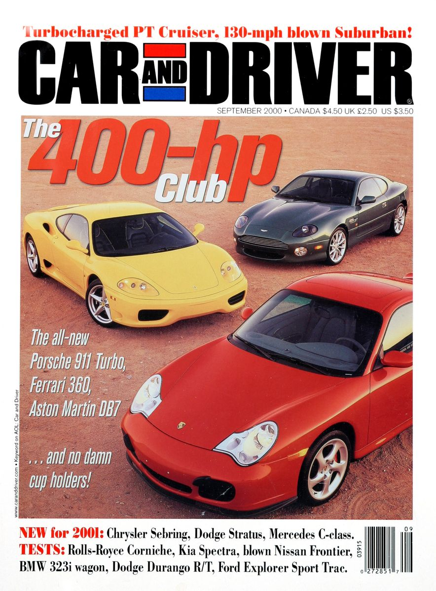 Going Millennial: The Car and Driver Covers of the 2000s and 2010s - Slide 10