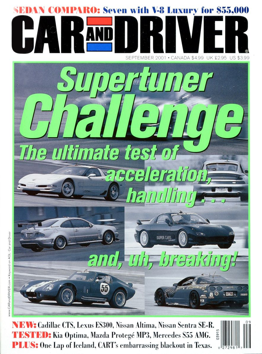 Going Millennial: The Car and Driver Covers of the 2000s and 2010s - Slide 22