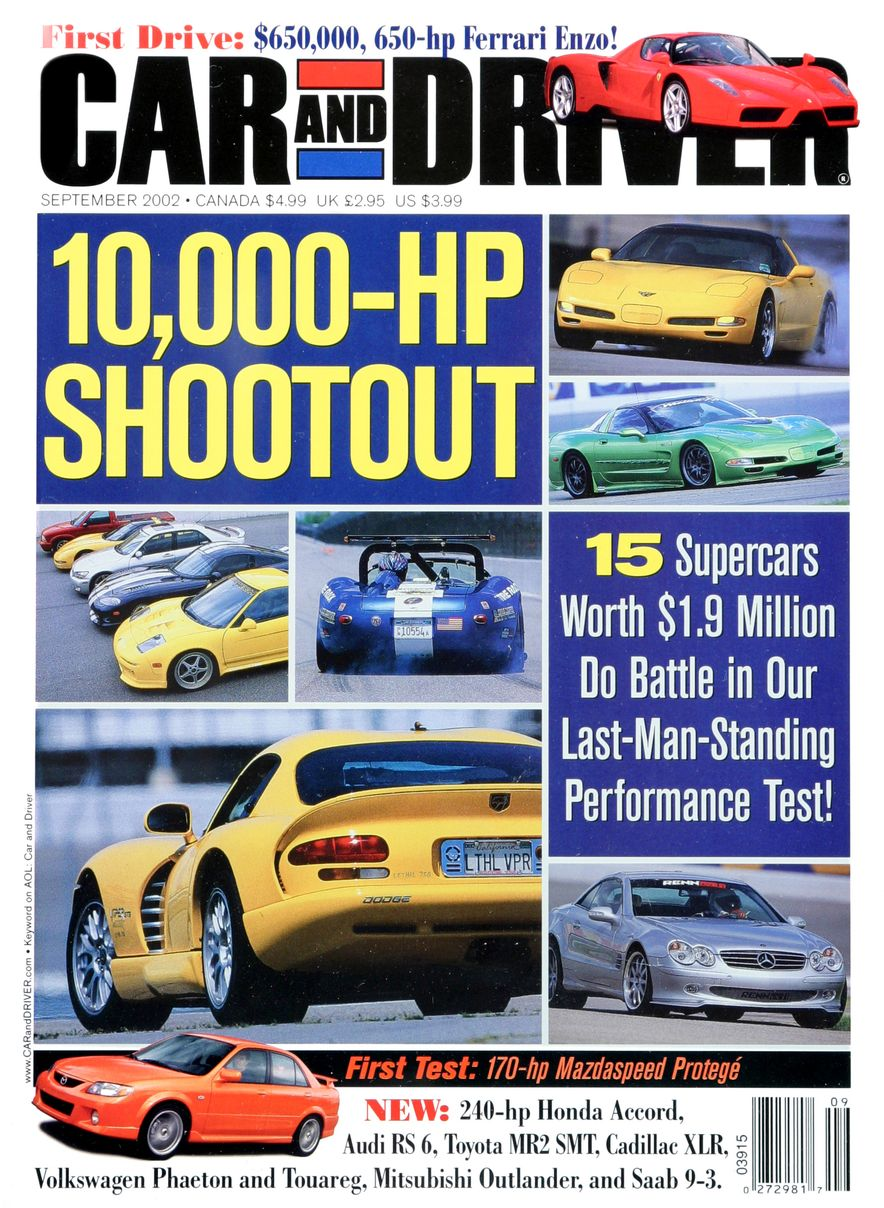 Going Millennial: The Car and Driver Covers of the 2000s and 2010s - Slide 34
