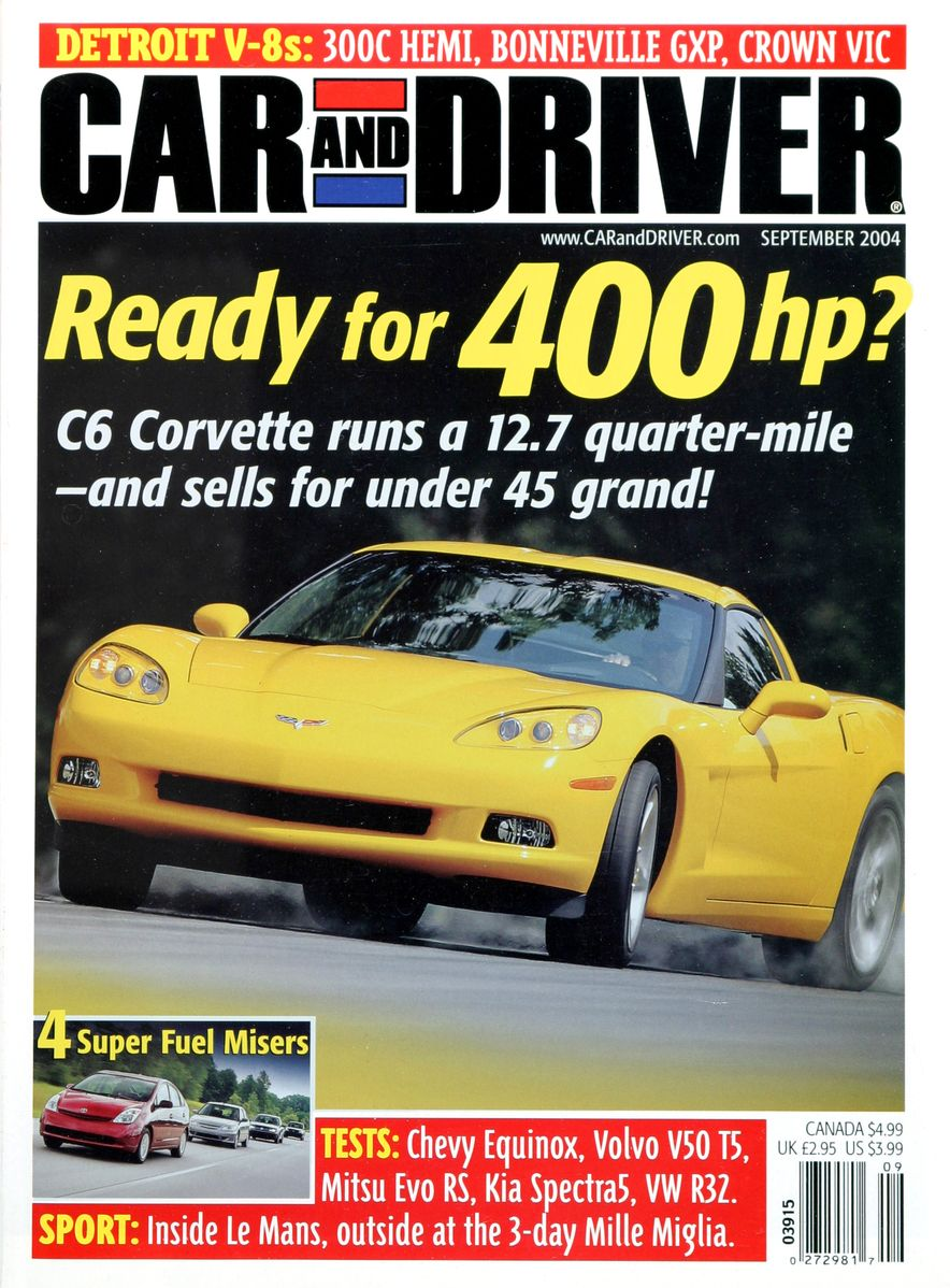Going Millennial: The Car and Driver Covers of the 2000s and 2010s - Slide 58