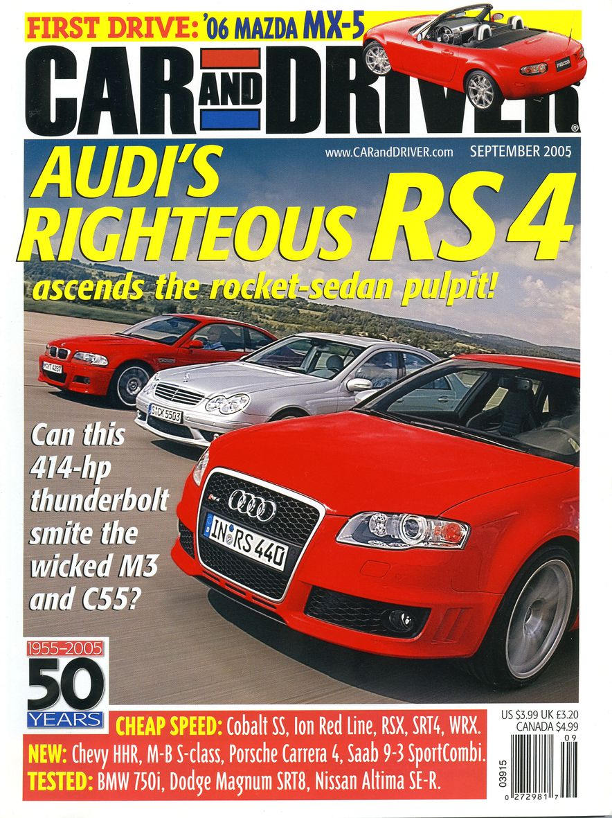 Going Millennial: The Car and Driver Covers of the 2000s and 2010s - Slide 70