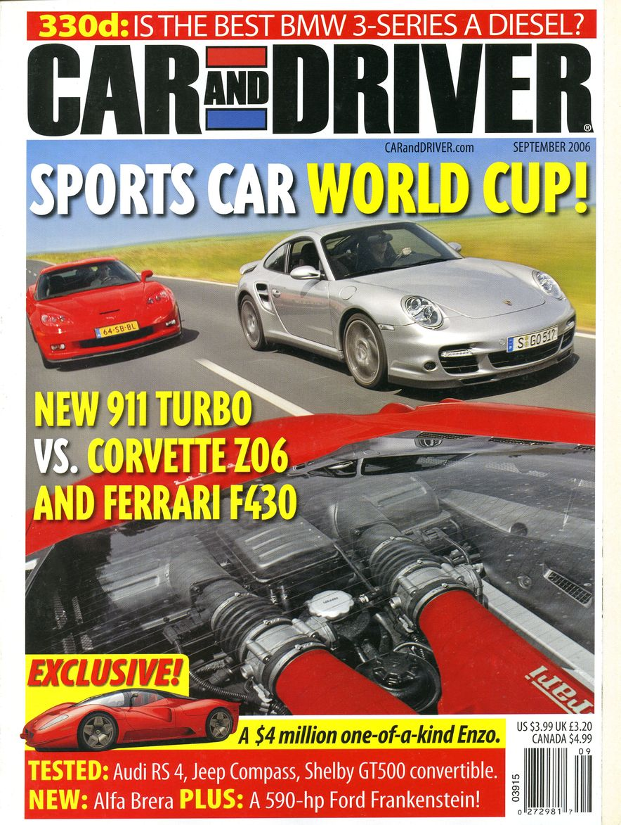 Going Millennial: The Car and Driver Covers of the 2000s and 2010s - Slide 82