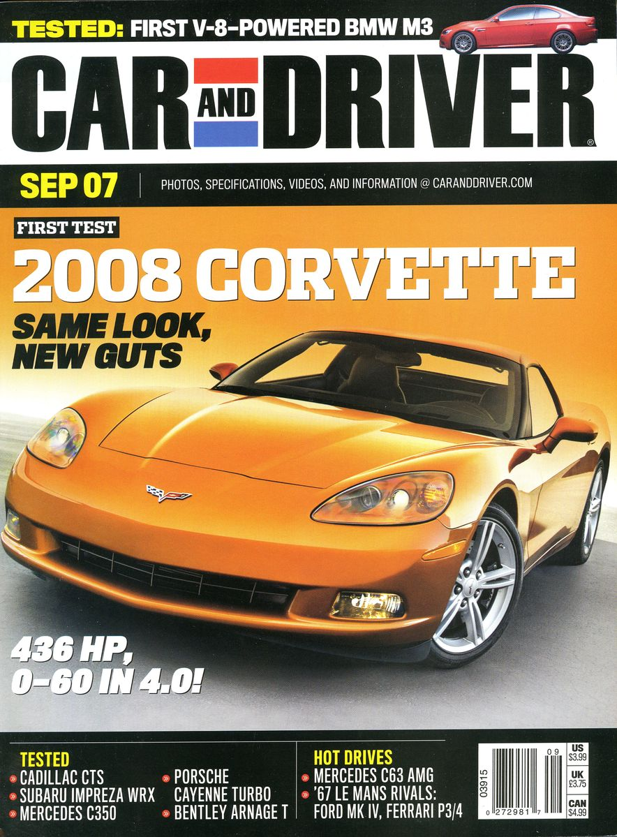 Going Millennial: The Car and Driver Covers of the 2000s and 2010s - Slide 94