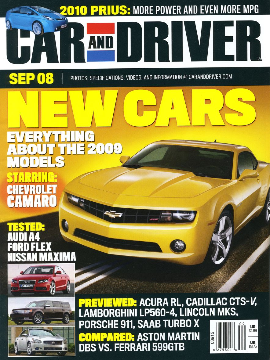 Going Millennial: The Car and Driver Covers of the 2000s and 2010s - Slide 106