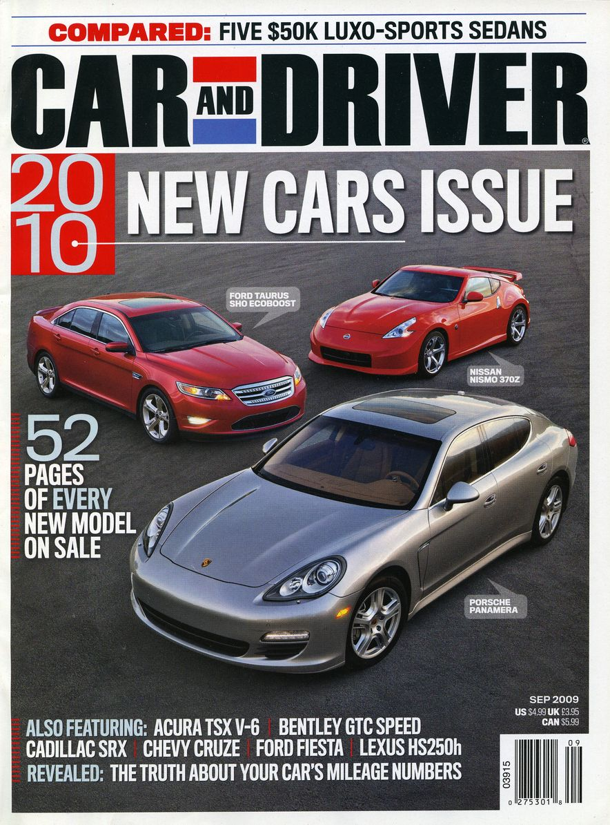 Going Millennial: The Car and Driver Covers of the 2000s and 2010s - Slide 118