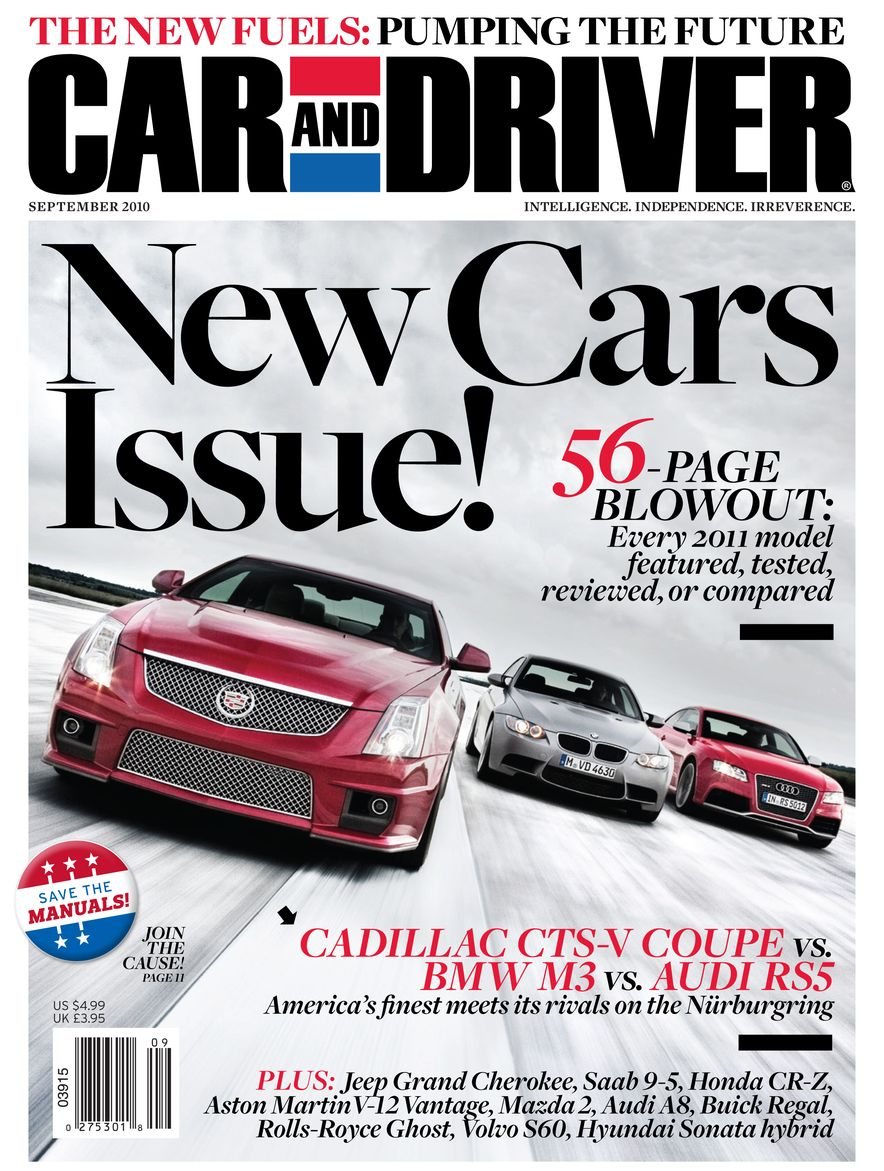 Going Millennial: The Car and Driver Covers of the 2000s and 2010s - Slide 130