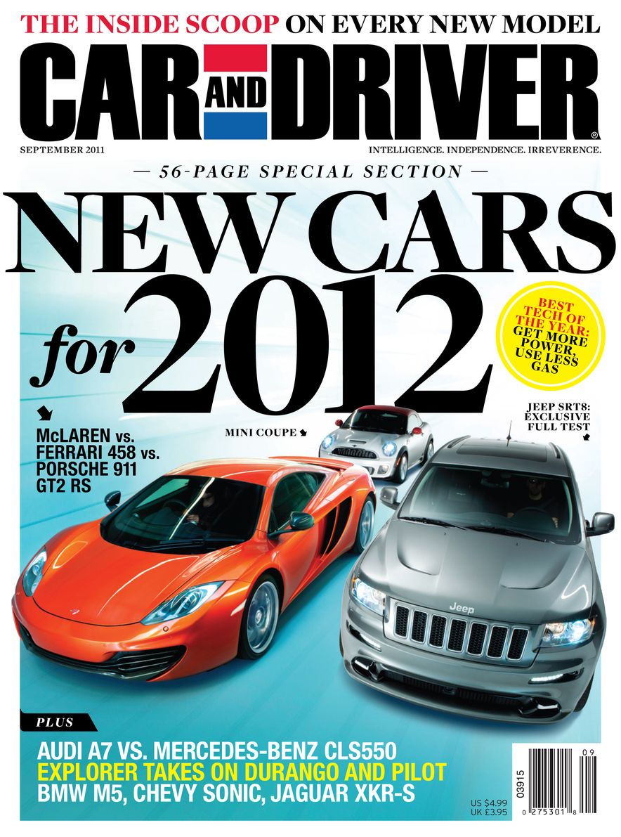 Going Millennial: The Car and Driver Covers of the 2000s and 2010s - Slide 142