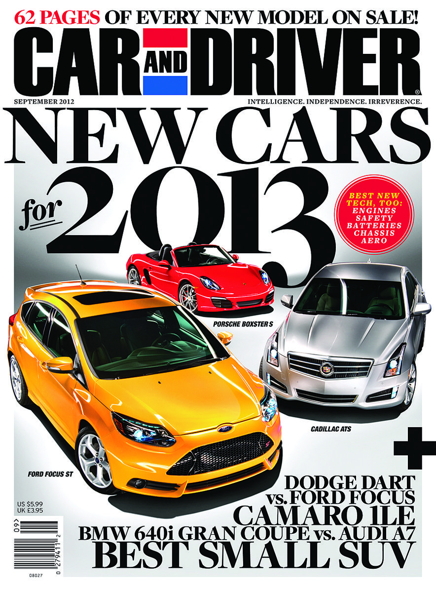 Going Millennial: The Car and Driver Covers of the 2000s and 2010s - Slide 154
