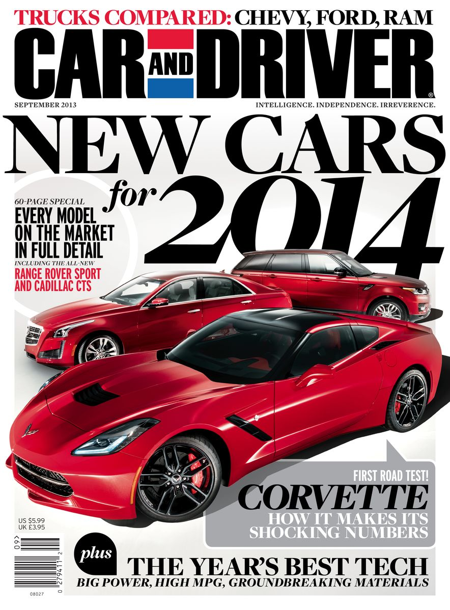 Going Millennial: The Car and Driver Covers of the 2000s and 2010s - Slide 166