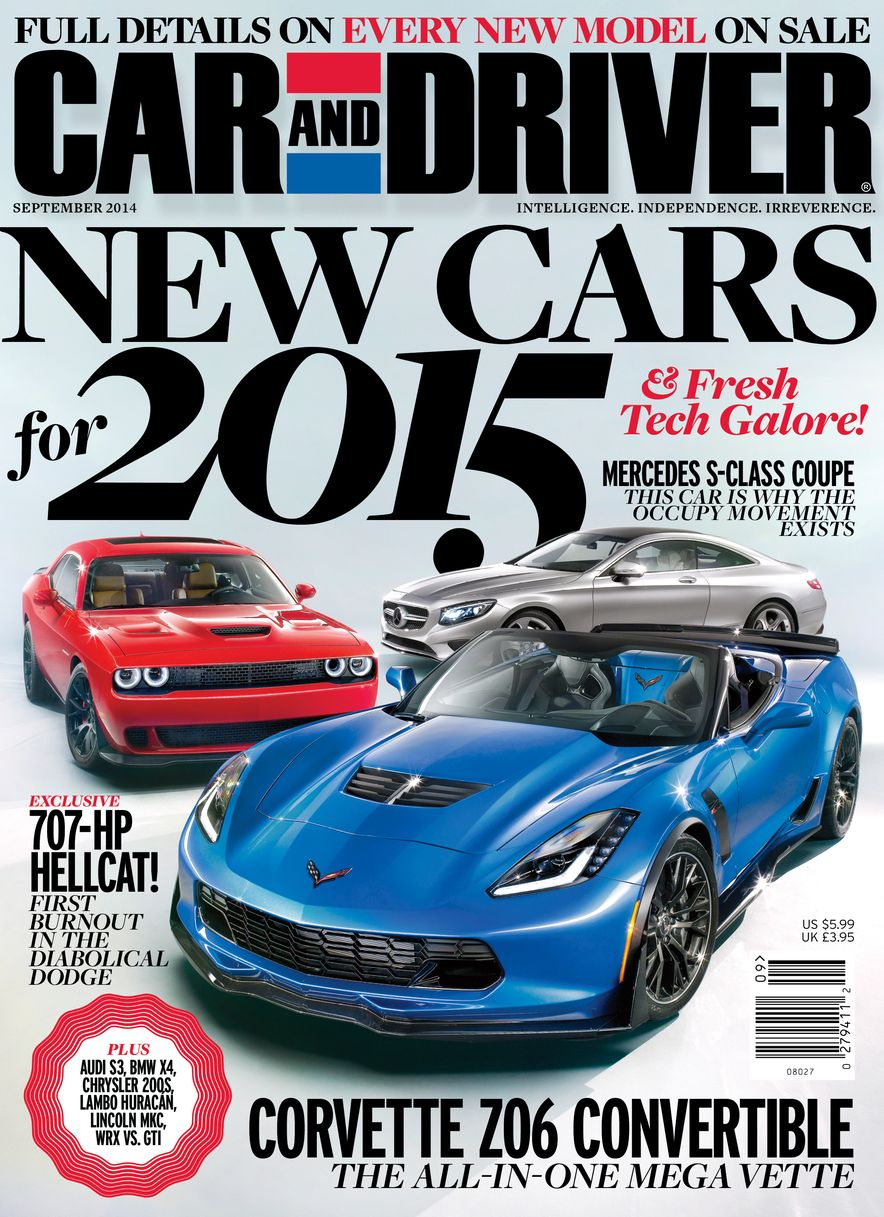Going Millennial: The Car and Driver Covers of the 2000s and 2010s - Slide 178