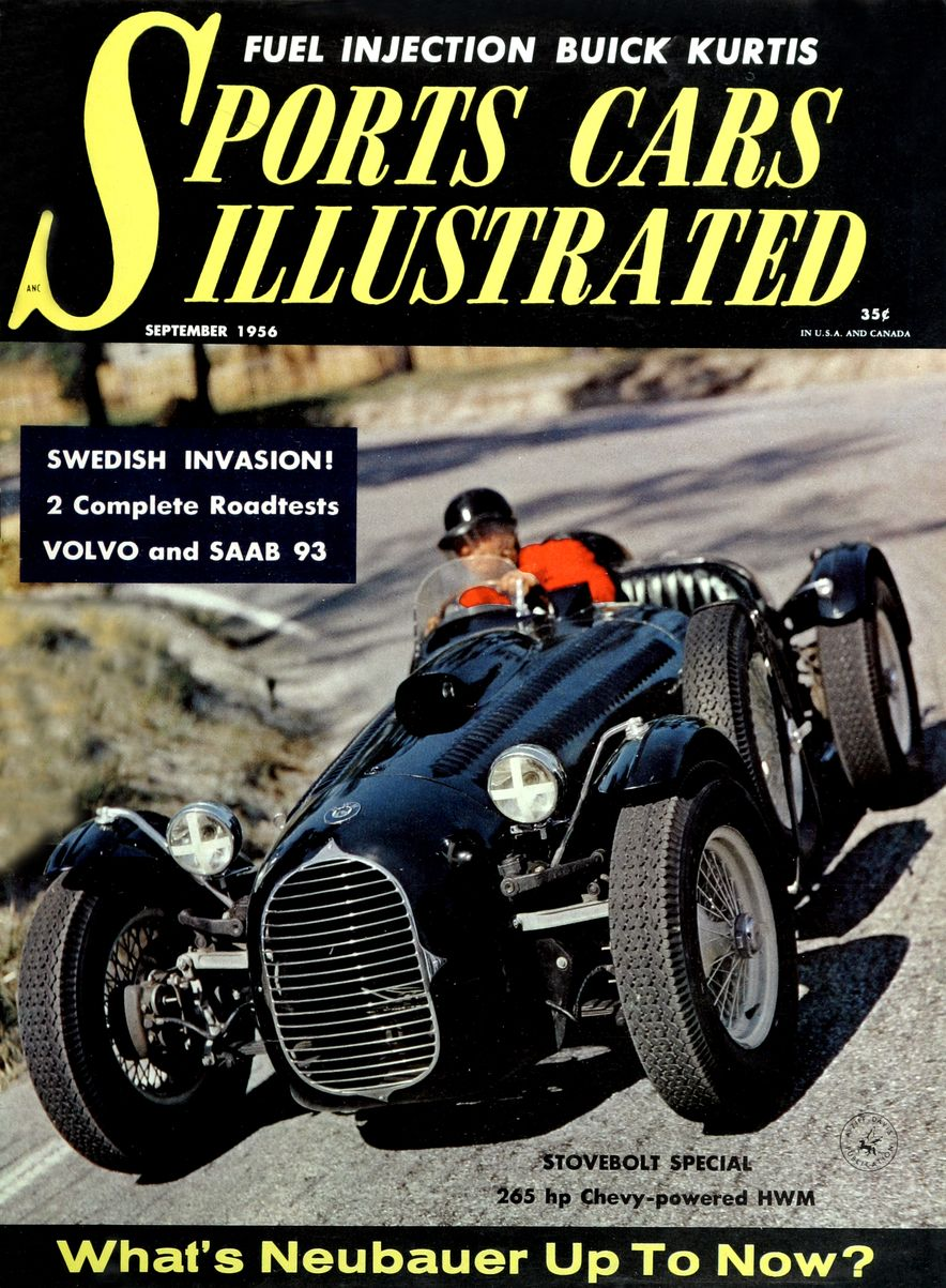 When We Were Young: The Car and Driver/Sports Cars Illustrated Covers of the 1950s - Slide 16