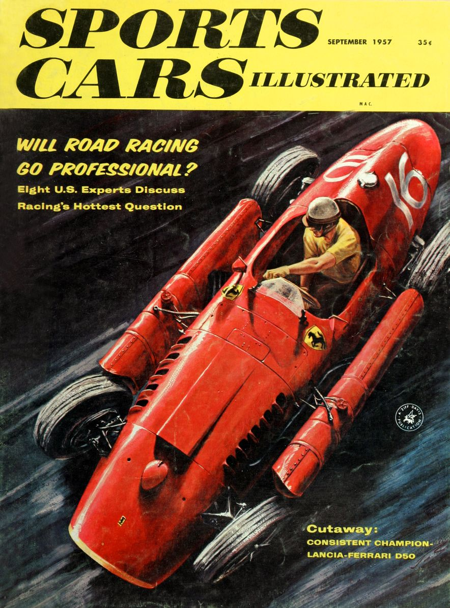 When We Were Young: The Car and Driver/Sports Cars Illustrated Covers of the 1950s - Slide 28