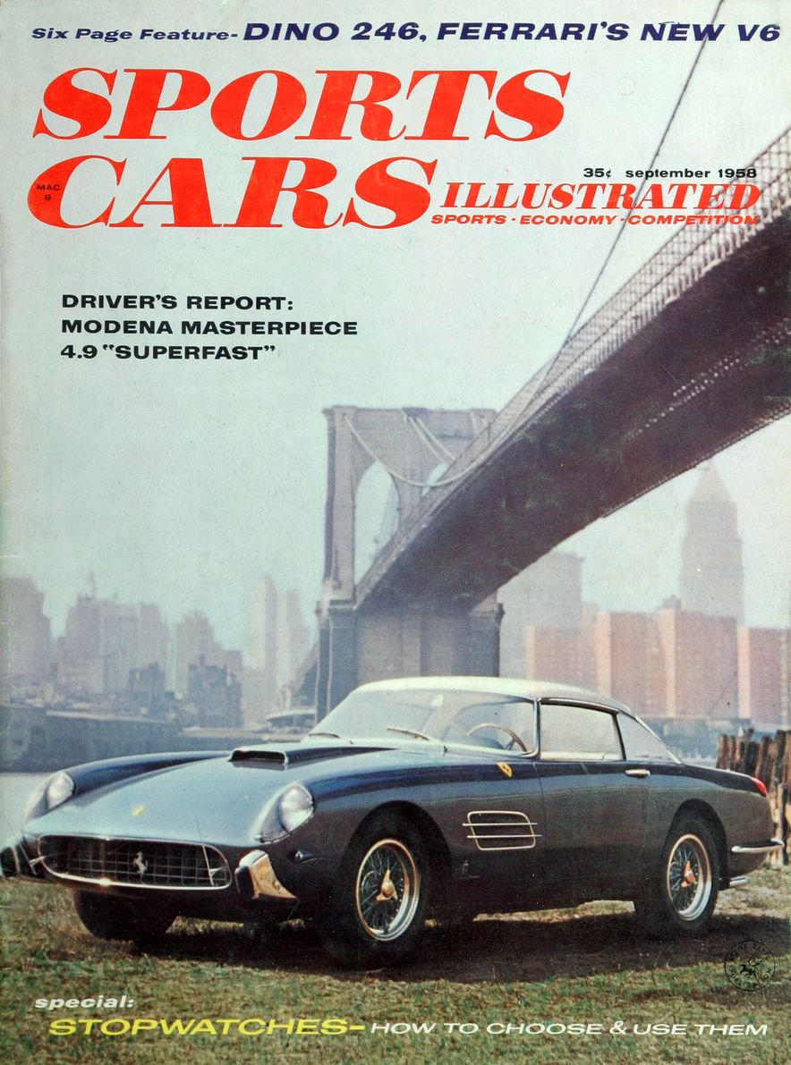 When We Were Young: The Car and Driver/Sports Cars Illustrated Covers of the 1950s - Slide 40