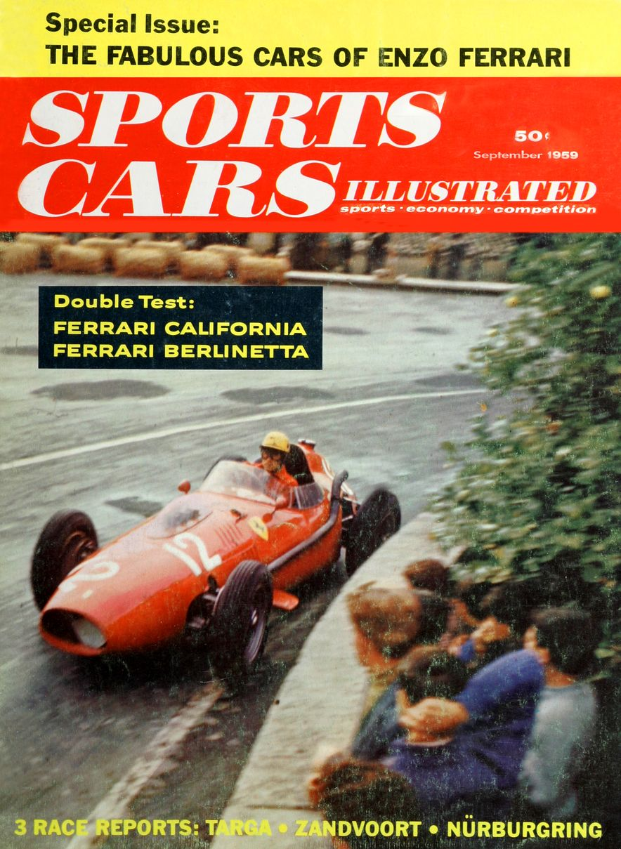 When We Were Young: The Car and Driver/Sports Cars Illustrated Covers of the 1950s - Slide 52