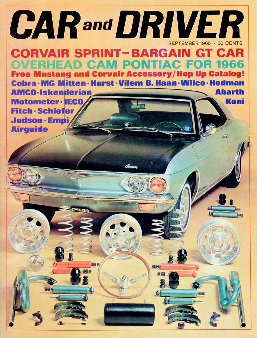 Getting Groovy and into the Groove: The Car and Driver Covers of the 1960s - Slide 70