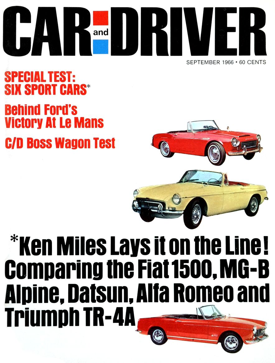 Getting Groovy and into the Groove: The Car and Driver Covers of the 1960s - Slide 82